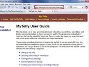 z Bill's nice My Telly User Guide!