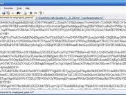 The encrypted file (base64 encoded)