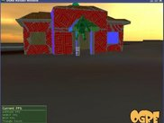 Backflipping in front of the dog house from wings3d manual