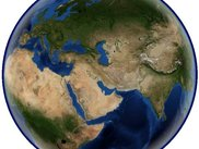 Blue Marble Next Generation: View of the eastern hemisphere