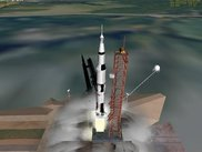 Apollo 11 launch (with updated LC39 pad add-on)