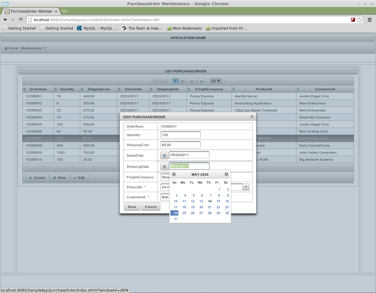 PrimeFaces CRUD Generator for NetBeans download