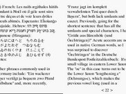 Using Multilingual Fonts