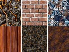 Seamless example textures of NeoTextureEdit 0.5.2a