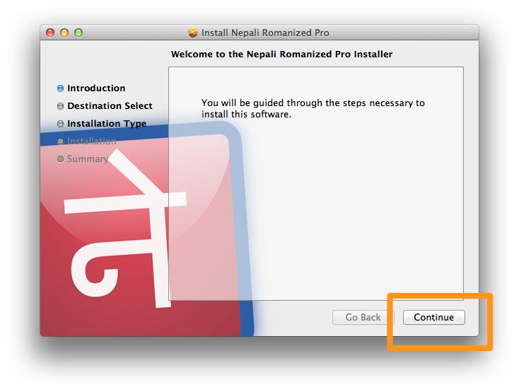 Nepali Romanized Pro (for MacOS / OSX) download
