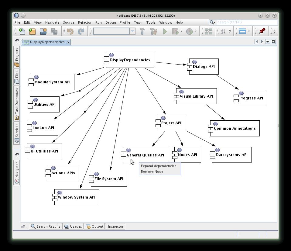 DisplayDependencies - NetBeans Plugin detail