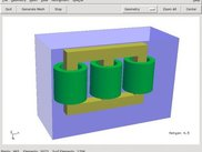 Simple transformer built with Netgen CSG modeler
