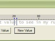 Example View of Ruler Control on a WinForm