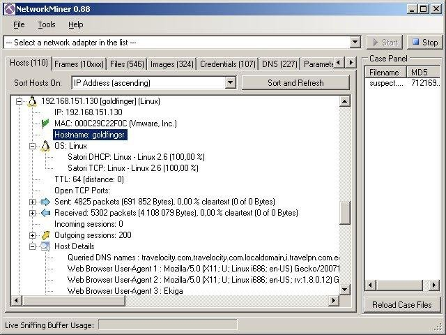 NetworkMiner packet analyzer download | SourceForge net
