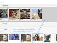 Image slideshows to create engaging content