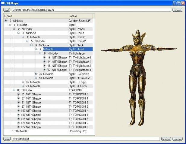 NIF File Format Library and Tools download | SourceForge net