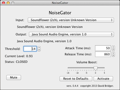 NoiseGator (Noise Gate) download | SourceForge net