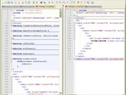 Notepad++ in action for php, javascript and html file