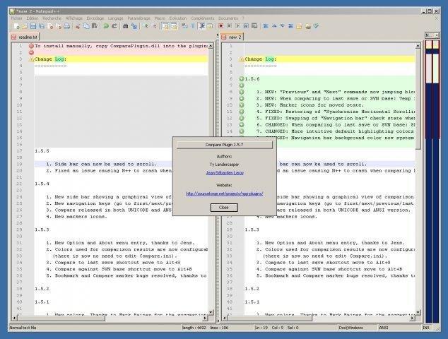 editplus compare files