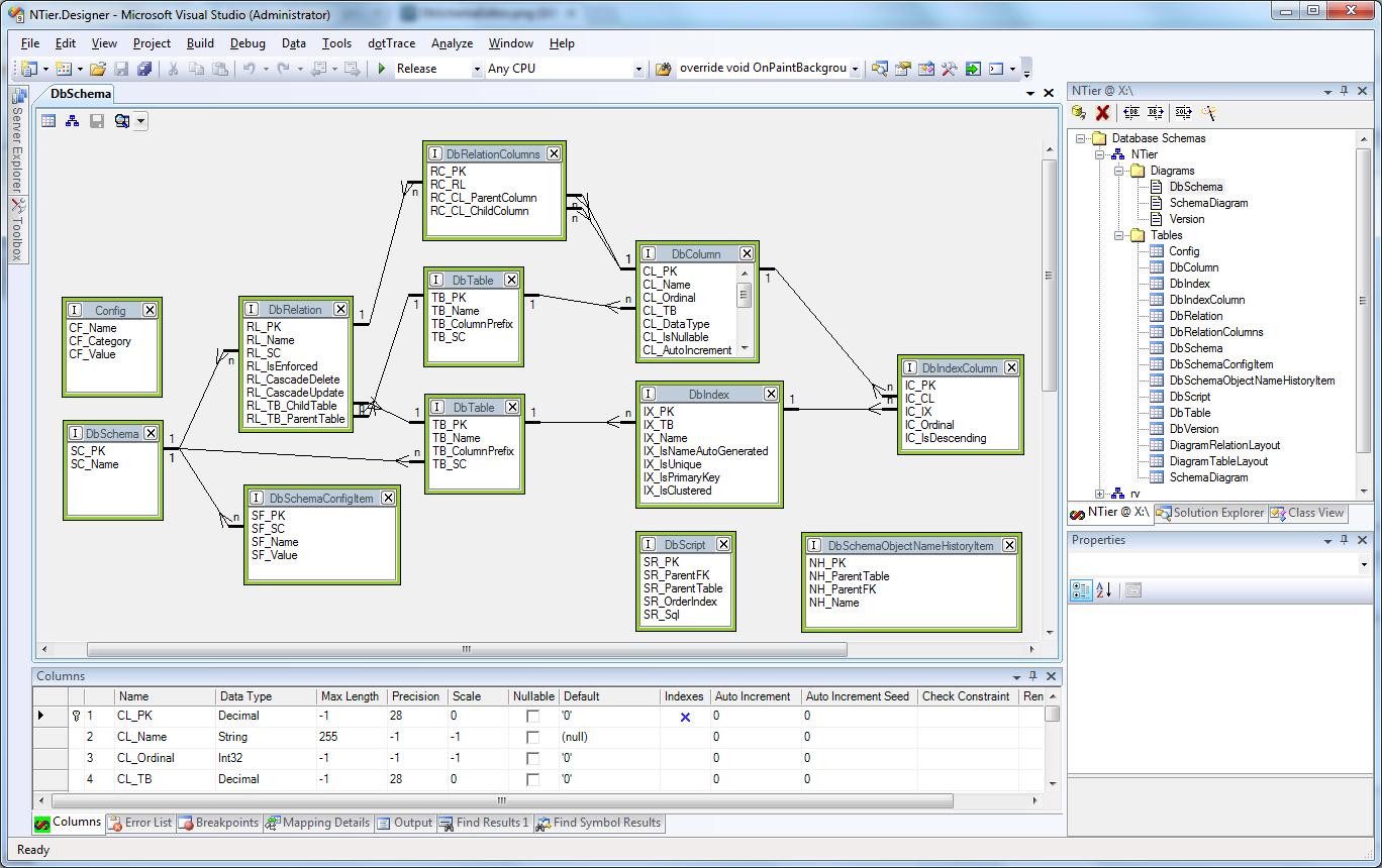 Database schema designer visual studio wire center n tier windows forms framework download sourceforge net rh sourceforge net database diagram designer visual studio 2015 database diagram designer visual ccuart Choice Image