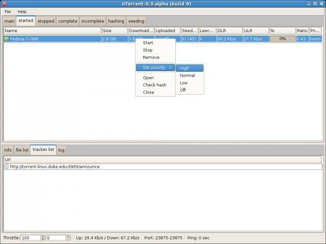 ntorrent - an rtorrent GUI download | SourceForge net