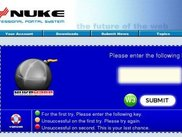 Nukeware Pre-Alpha release, Brute Force Security
