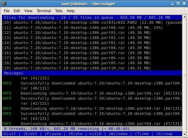 NZBGet download | SourceForge net