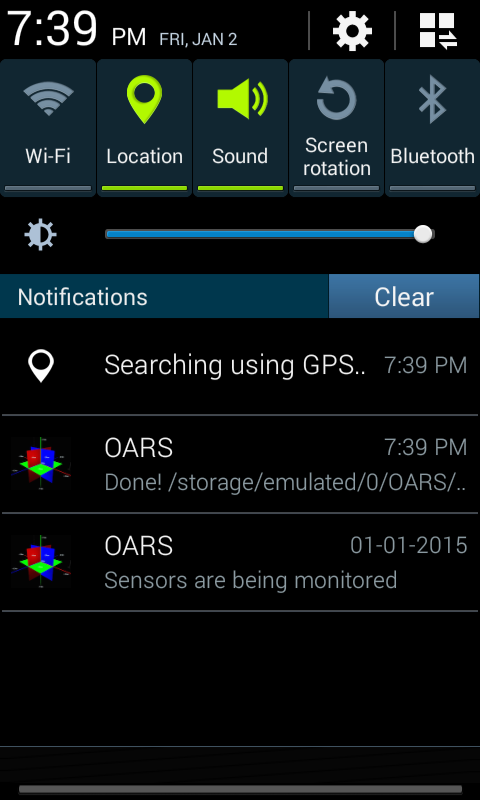 oars android imu gps data logger. Black Bedroom Furniture Sets. Home Design Ideas
