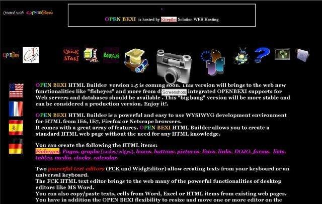 OpenBEXI HTML Builder download | SourceForge net