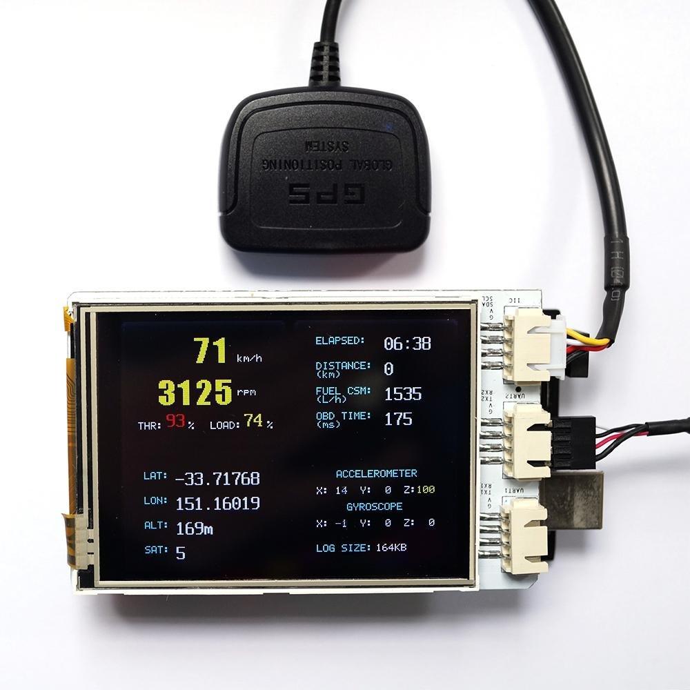 OBD-II for Arduino download SourceForgenet