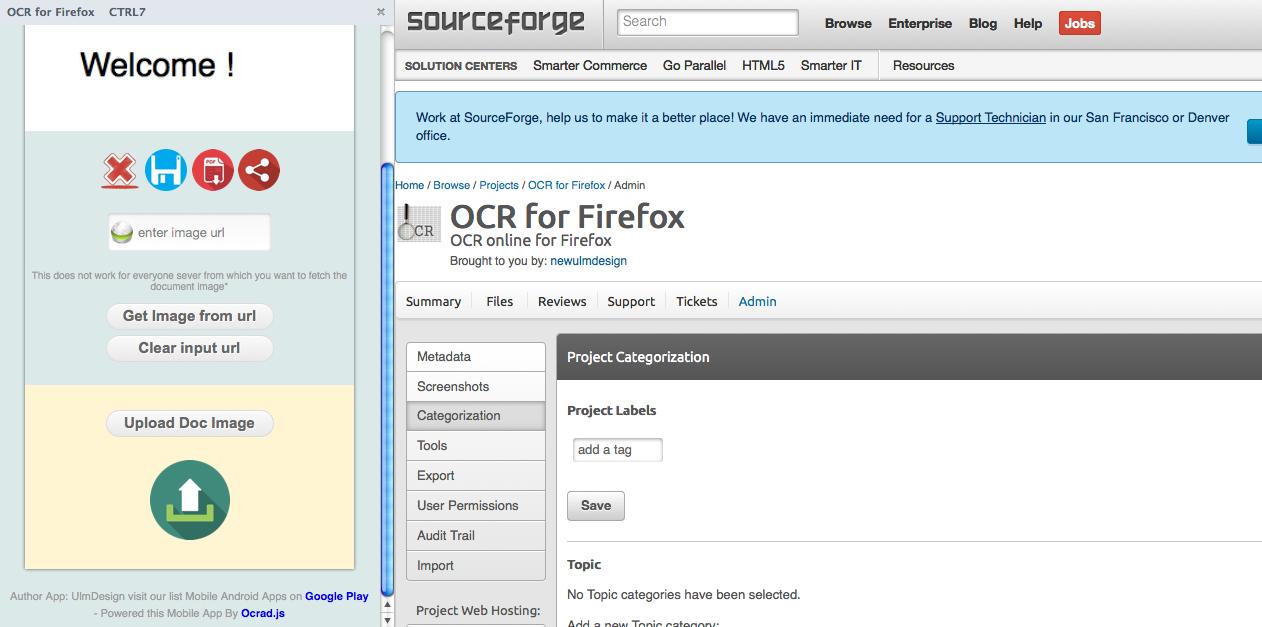 OCR Web based download | SourceForge net