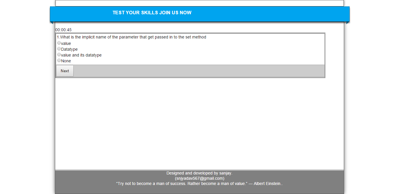 Online Examination Portal In Asp Net And Download