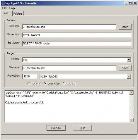 ogr2gui download | SourceForge net