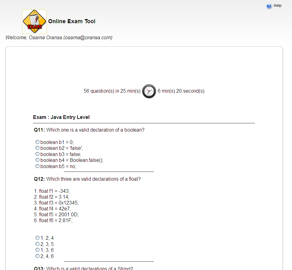 Online Exam System download | SourceForge net
