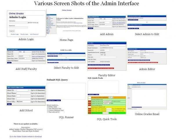 Various Admin Features