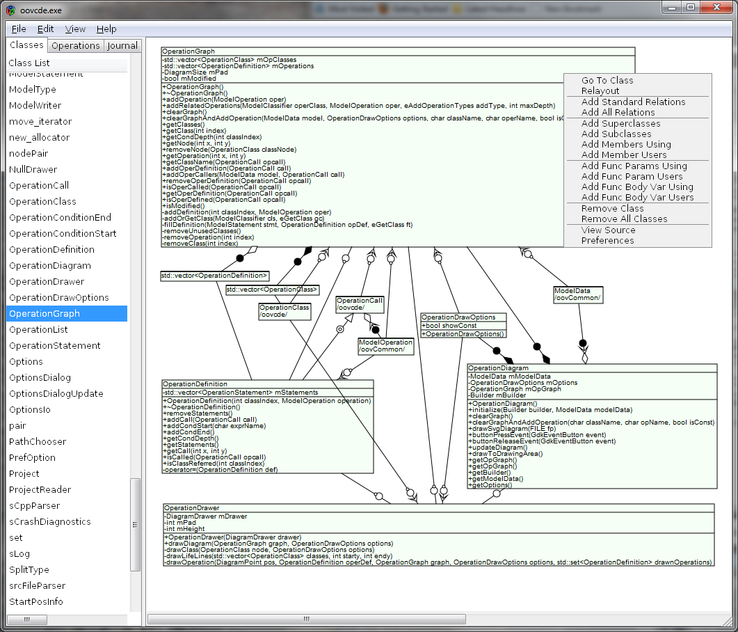 Oovcde download sourceforge class diagram screen pooptronica