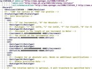 Snapshot of main xml-document