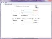 Your details page (Windows 7)