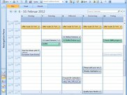Outlook Calendar Interface - Recurring Ride Offer