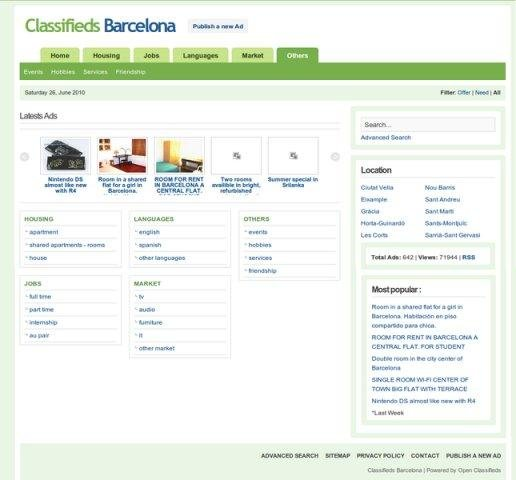Open Classifieds download   SourceForge net