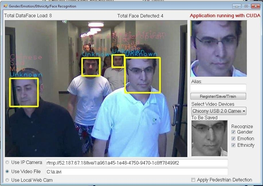 OpenCvSharp Face Recognition Detection download