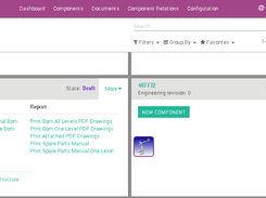 OdooPLM advanced product view