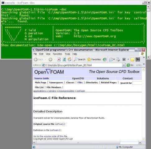 OpenFOAM for MS windows binary release download