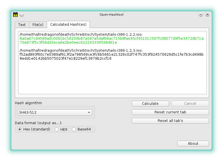 Open-Hashtool download | SourceForge net