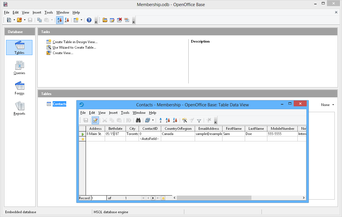 OpenOffice Writer online for Word documents
