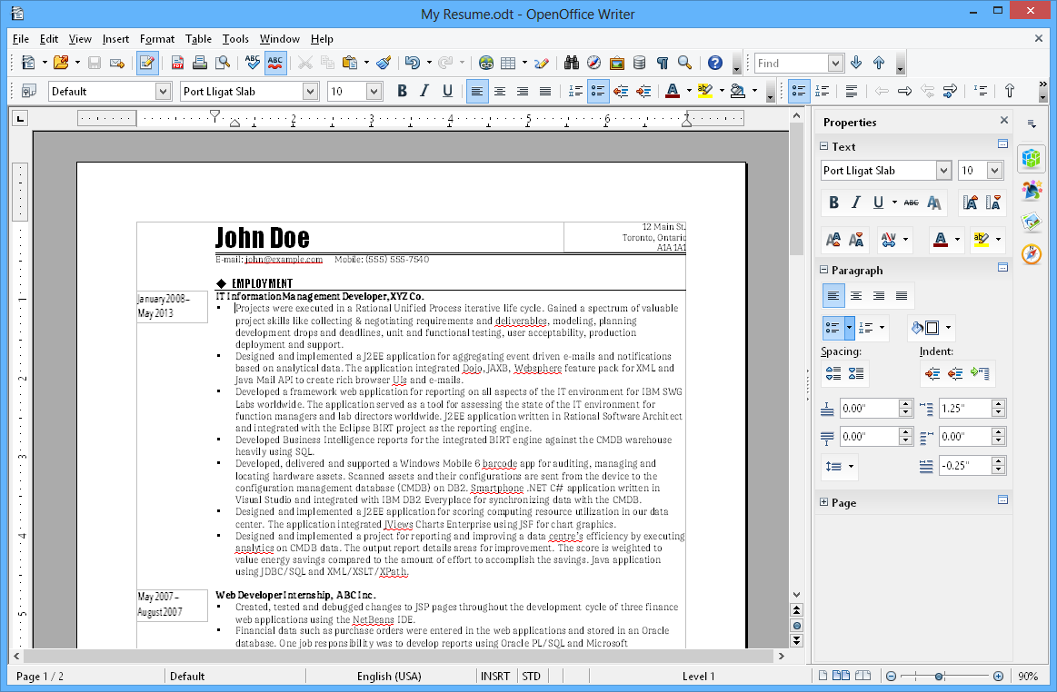 Apache openoffice - Telecharger writer open office gratuit ...