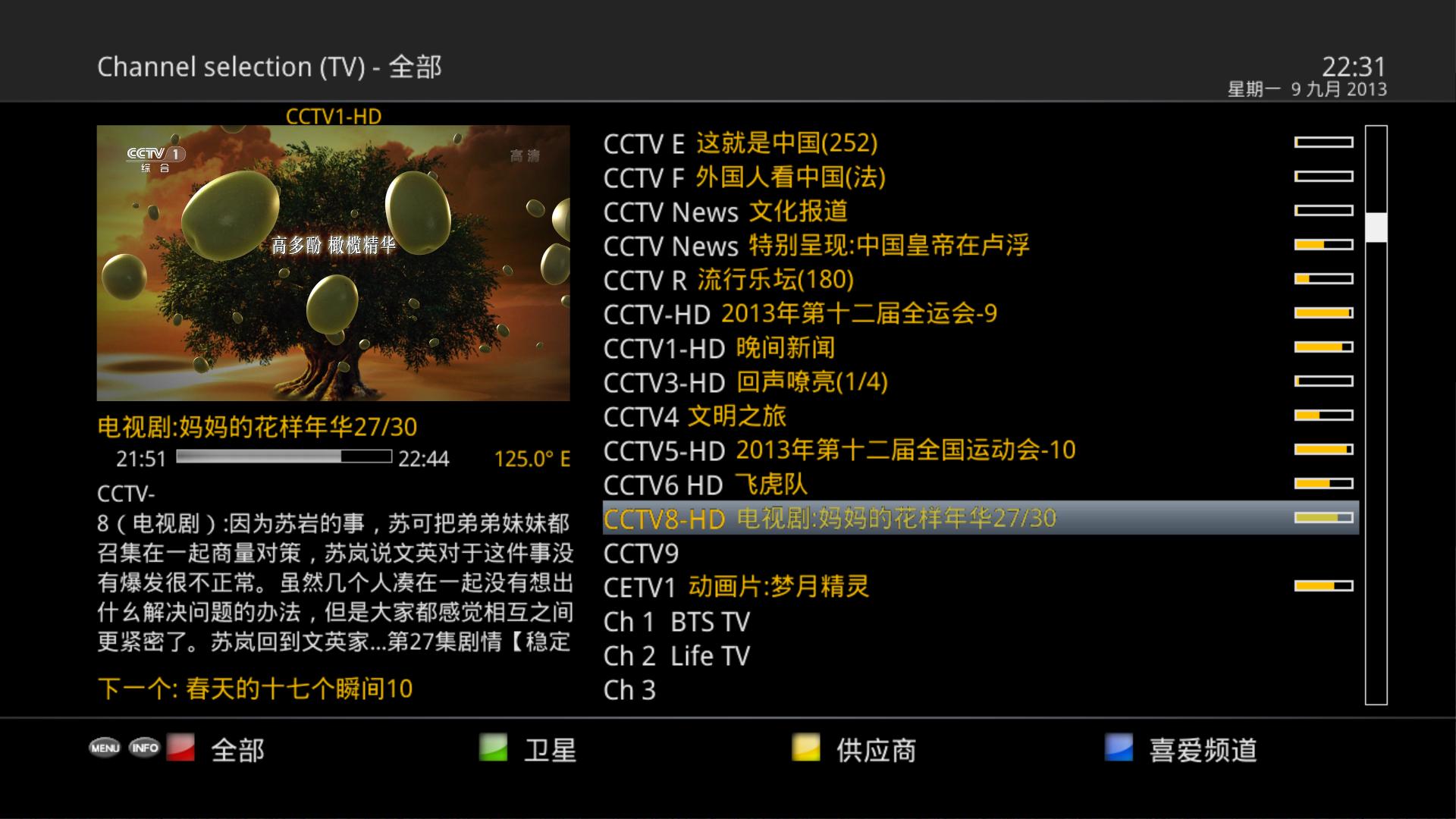 OpenPCTV download | SourceForge net