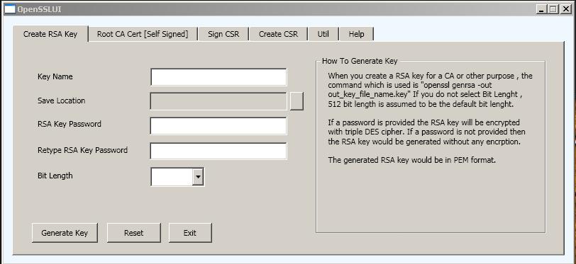 Tech Drive: OpenSSL User Interface