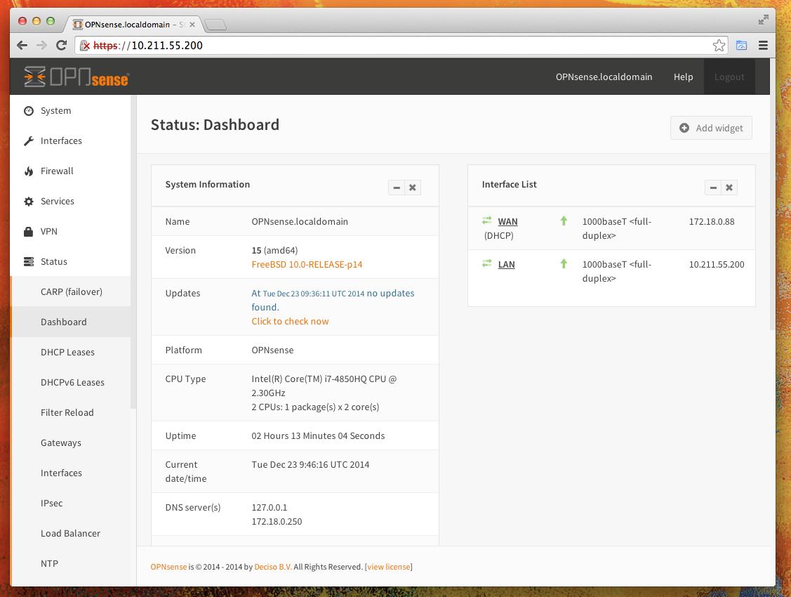 OPNsense download | SourceForge net