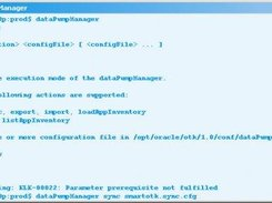 easy synchronisation with dataPumpManager