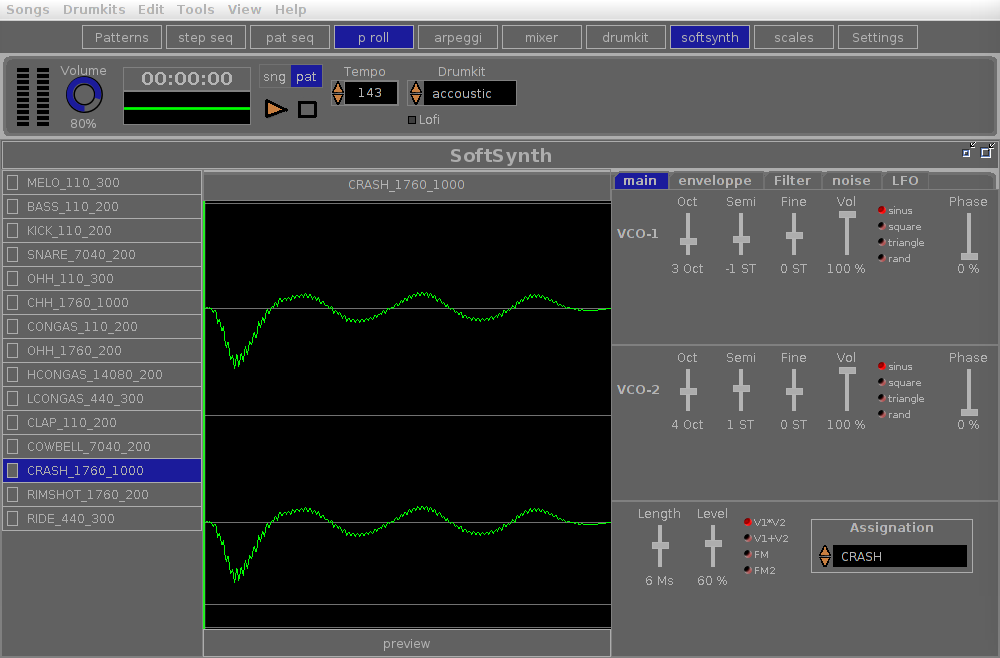orDrumbox Software Drum Machine download | SourceForge net