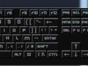 An azerty keyboard overview