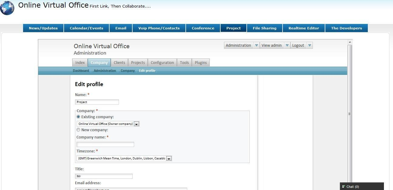 Online Virtual Office using FOSS download   SourceForge net
