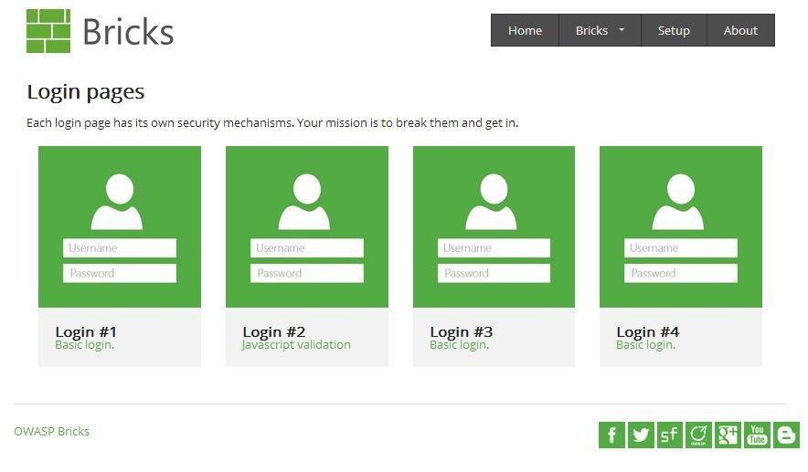 OWASP Bricks download | SourceForge net