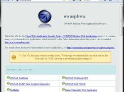 OWASP Broken Web Applications Project download   SourceForge net